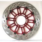 Discacciati Brake systems Vollschwimmende Frontscheibe Ø 310 mm, austauschbar Original für: CBR600RR '03> / CBR 1000R '08 / CBR 1000RR '04> '05