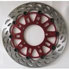 Discacciati Brake systems Vollschwimmfrontscheibe, Ø 296 mm, austauschbar mit Original für Honda Hornet 900 / CBR600 '00> '02