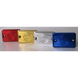 Discacciati Brake systems Anodized Behälterdeckel für rechteckige Pumpe. Billet Aluminium