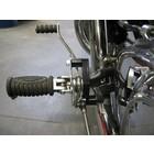 Discacciati Brake systems Triumph America.Voetsteun beugel