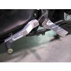 Discacciati Brake systems Einstellbare Fussrastenanlage für Triumph Scrambler eingestellt