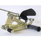 Discacciati Brake systems Einstellbare Fussrastenanlage für Triumph Daytona 675 Street Triple