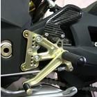 Discacciati Brake systems Einstellbare Fussrastenanlage F4 und Brutale, mit Hinterradbremspumpe und Reservoir