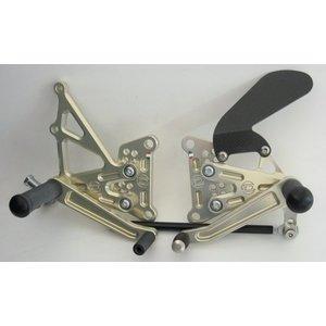 Discacciati Brake systems Adjustable rear set Kawasaki ZX6R 07-08