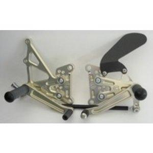Discacciati Brake systems Adjustable rear set Kawasaki ZX10R 08-
