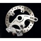 Discacciati Brake systems Ducati 848/1098/1198 Hinterrad 4piston Sattel und Halter-Kit,