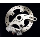 Discacciati Brake systems Ducati 749 , 999 upgrade kit for Rear wheel caliper and bracket
