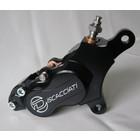 Discacciati Brake systems 4-Kolben-Bremssattel rechts für HD Dyna MY 2007> und V-Rod.