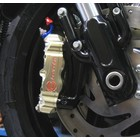 Discacciati Brake systems XR1200 conversion kit from stock to radial calipers for use with original brake disks