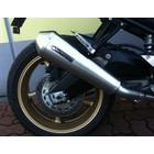 Spark Exhaust Technology FZ8 / FZ8 Fazer (10-11) Dark stijl demper megafoon met goedkeuring van de EU