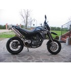 Spark Exhaust Technology XT 660 X-R ( 04-09 ) stainless steel rectangular silencers with EU approval