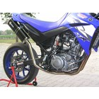 Spark Exhaust Technology XT 660 X-R ( 04-09 ) Dark style rectangular silencers with EU approval