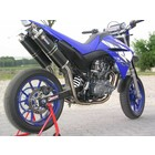 Spark Exhaust Technology XT 660 X-R ( 04-09 ) carbon rectangular silencers with EU approval