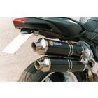 Spark Exhaust Technology BRUTAL 750 ('03 / '06) / 910 ('05 / '07) Edelstahl-Endschalldämpfer mit EU-Zulassung