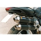 Spark Exhaust Technology BRUTALE 750 ('03/'06) /910 ('05/'07) dark style silencers with EU approval