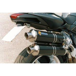 Spark Exhaust Technology BRUTALE 750 ('03 / '06) / 910 ('05 / '07) Dark Style Schalldämpfer mit EU-Zulassung
