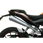 Spark Exhaust Technology KTM DUKE 125 ( 2011- ) High mounted stainless steel open silencer in GP style