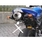 Spark Exhaust Technology ZX-6R ('05 / '06) demper titanium. &carbon , EU goedkeuring