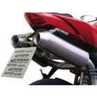 Spark Exhaust Technology STREET 848/1098/1098S zwei Titan-Schalldämpfer hohen Mount, offene Version
