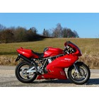 Spark Exhaust Technology 620 /750 SS IE - 900 SS IE ('98/'02) carbon silencers ROUND high EU approval