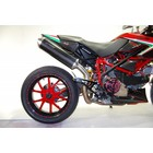 Spark Exhaust Technology HYPERMOTARD 796 ovale carbon demper goedkeuring van de EU