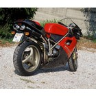 Spark Exhaust Technology 748 (95-98) / 916 (94-98) Dark style silencers, EU approval