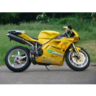 Spark Exhaust Technology 748 ('95-'98) / 916 ('94-'98) dark style silencers, EU approval