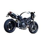 Spark Exhaust Technology Monster 1100 EVO Kenteken drager van Titanium