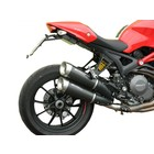 Spark Exhaust Technology Monster 1100 EVO dark style silencers, standard mounting, open version