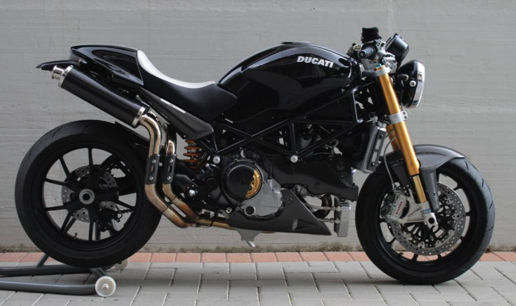 Spark Exhaust Ducati Streetfighter