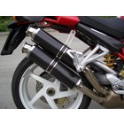 Spark Exhaust Technology M S4R (07-08) S4RS (06-08) carbon silencers in 45 degree with EU approval