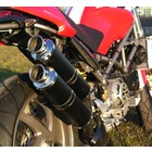 Spark Exhaust Technology M S4R (03-06) S2R 800 S2R 1000 carbon silencers in 45 degree with EU approval