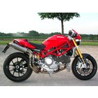 Spark Exhaust Technology M S4R (03-06) S2R 800 S2R 1000 titanium silencers round, with EU approval