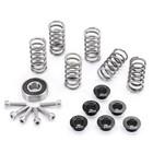 EVR Special Parts Complete kit, rvs veren,, lager, schroeven en veerplaatjes 6 mm voor alle modellen behalve 1098, SF 1098 / S, HPM 1100 modellen