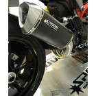 Spark Exhaust Technology HYPERMOTARD 821 / HYPERSTRADA Stainless steel , low position model Force. EU approval