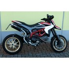 Spark Exhaust Technology HYPERMOTARD 821 Titanium silencer Force high mounted EU approval