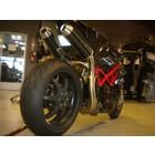 Spark Exhaust Technology STREET 848/1098/1098S 2 Kohlenstoffabsorber angebracht hoch, EU-Label