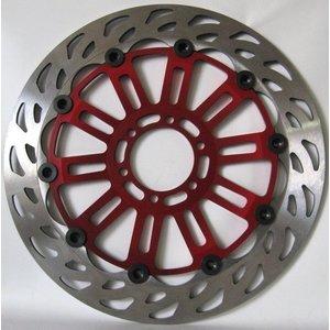 Discacciati Brake systems Ducati Hypermotard 821 / 1100S/EVO / Hyper Strada schwimmend Brems Upgrade-Kit