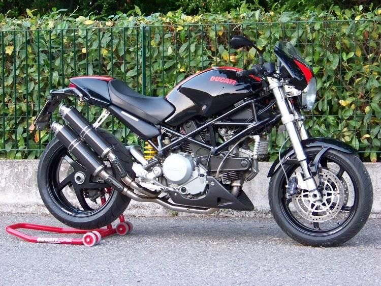 Spark Exhaust Ducati Monster