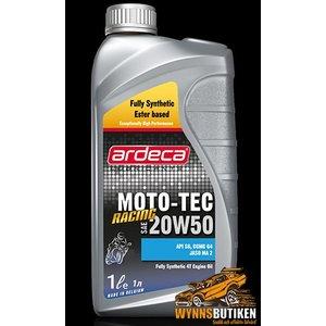 Ardeca Moto Tec 20W50 Ester Racing 4T 5L