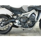 Spark Exhaust Technology Yamaha MT 09 14-FULL SYSTEM Dark style Force mit ABE