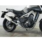 Spark Exhaust Technology Yamaha MT 14-09 Schalldämpfer aus Titan hohe Position mit ABE