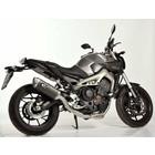 Spark Exhaust Technology Yamaha MT 09 14- Carbon demper hoge positie E-keur