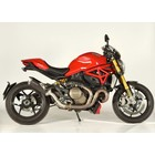 Spark Exhaust Technology Monster 1200 Dark style Force demper met E keur