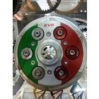 EVR Special Parts EVR Geventileerde drukplaat in tri colore