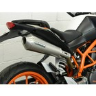 Spark Exhaust Technology KTM Duke 390 megaphone Dark Style silencer with EU approval