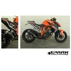 Spark Exhaust Technology KTM Super Duke 1290 Carbon Fiber Force-Endschalldämpfer ABE