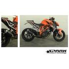Spark Exhaust Technology KTM Superduke 1290 Carbon Fiber Force demper met E keur