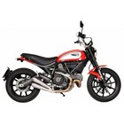 Spark Exhaust Technology Scrambler Classic stainless steel damper open version