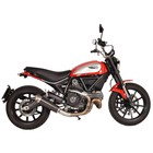 Spark Exhaust Technology Scrambler Evo V dark style silencer with EU approval